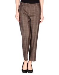 Niu' Casual Pants Dark Brown