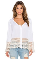 Liv Bell Sleeve Top Ivory