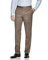 Jack Victor Loro Piana Classic Fit Trousers Light Brown
