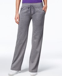 Ideology Id Warm Relaxed Leg Pants Only At Macy's Charcoal Heather