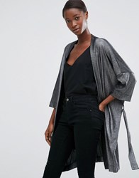 Minimum Moves Kiral Kimono Jacket Silver