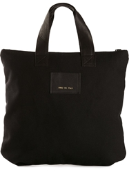Common Projects Logo Patch Tote Black