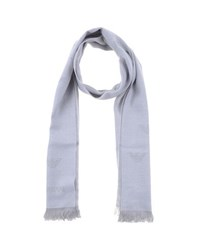 Emporio Armani Accessories Oblong Scarves Men Light Grey