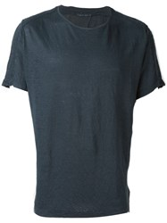 Transit Relaxed Fit T Shirt Blue