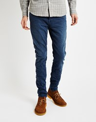 Only And Sons Mens Slim Fit 5 Pocket Jeans Washed Blue