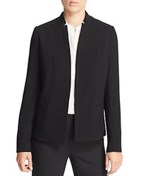 Elie Tahari Wendy Inverted Lapel Blazer Black