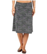 Royal Robbins Essential Tencel Printed Skirt Agave Women's Skirt Green