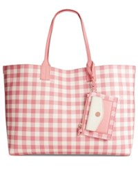 Tommy Hilfiger Th Reversible Tote Coral Oatmeal