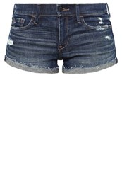 Abercrombie And Fitch Denim Shorts Rinse Rinsed Denim