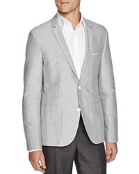 Hugo Boss Hugo Aleonso Sport Coat Slim Fit Silver