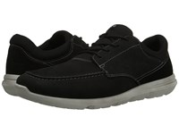 Ecco Calgary Moc Black Black Men's Lace Up Moc Toe Shoes
