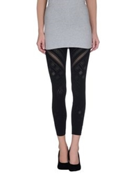 Roberto Cavalli Gym Leggings Black