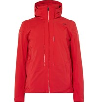 Kjus Sight Line Shell Ski Jacket Red
