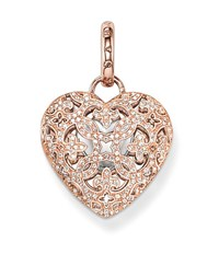 Thomas Sabo Glam And Soul Pave Heart Locket Pendant