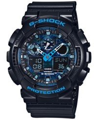 G Shock Men's Analog Digital Black Resin Bracelet Watch 55X51mm Ga100cb 1A