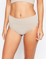 Spanx Loungerie Thong Sandcastle Beige