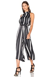 Faithfull The Brand Plaga Jumpsuit Black And White