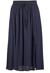 Louche Tamiko Aline Skirt Navy Dark Blue