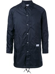 Bedwin And The Heartbreakers Back Logo Raincoat Black