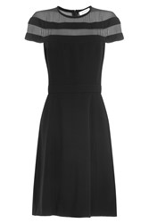 Thierry Mugler Dress With Sheer Panels Black