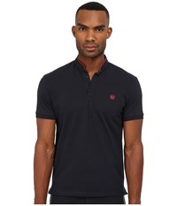 The Kooples Sport Classic Pique Polo Navy Men's Clothing