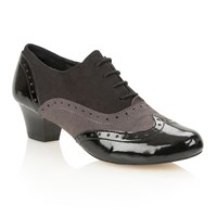 Lotus Sheree Court Shoes Jet Black