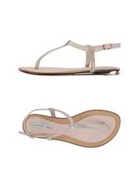 Tosca Blu Thong Sandals Pink