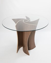 Macmaster Spiral Dining Table