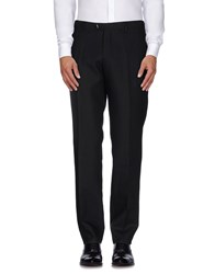 Mp Massimo Piombo Trousers Casual Trousers Men Black