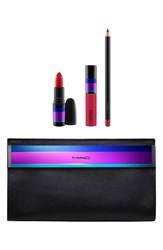 M A C 'Enchanted Eve Red' Lip Bag Limited Edition 49 Value