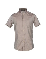 Aglini Shirts Dove Grey