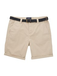 Criminal Travis Cotton Chino Shorts Stone