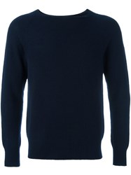 Barena Bateau Neck Sweater Blue