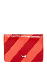 Tusk Barcelona Stripe Card Case Red