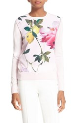Ted Baker Women's London 'Dalhii Citrus Bloom' Sweater