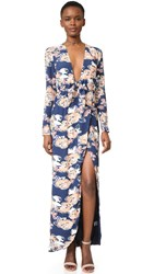 Lovers Friends My Love Maxi Dress Carmel Floral