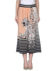 Emma Cook 3 4 Length Skirts Salmon Pink