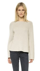 Helmut Lang Cashmere Cotton Pullover Agate