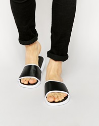 New Look Sliders Black