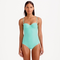 J.Crew Dd Cup Underwire One Piece Swimsuit