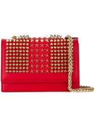 Philipp Plein 'Stars And Crimes' Shoulder Bag Red