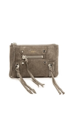 Botkier Logan Wristlet Soft Grey
