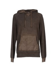 Cycle Topwear Sweatshirts Men Dark Brown