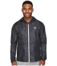 Hurley Blocked Runner 2.0 Jacket Black Men's Coat
