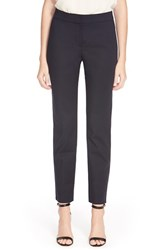 Women's St. John Collection 'Emma' Crop Micro Ottoman Pants