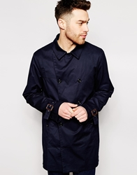 Esprit Trench Coat Navy