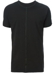 Isaac Sellam Experience Central Seam T Shirt Black
