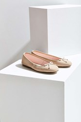 Urban Outfitters Suzi Suede Ballet Flat Yellow