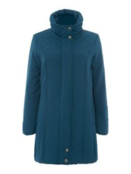 Tigi Quilted Coat Blue