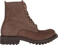 Shoto Lace Up Boots Brown